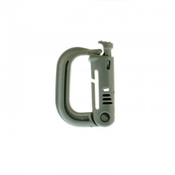 Klamra ITW Nexus Grimloc locking Dee-ring Foliage green