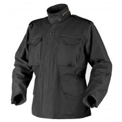 Kurtka Helikon-Tex M65 Jacket sateen czarna