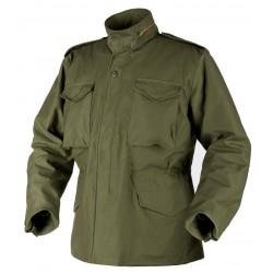 Kurtka Helikon-Tex M65 Jacket sateen olive