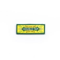Naszywka 3D Double Tap żółta