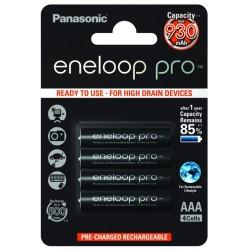 Akumulatorki AAA Panasonic Eneloop Pro 4szt