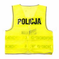 Kamizelka ostrzegawcza POLICJA letnia