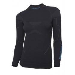 Bluza Brubeck Thermo damska długi rękaw czarna LS13100
