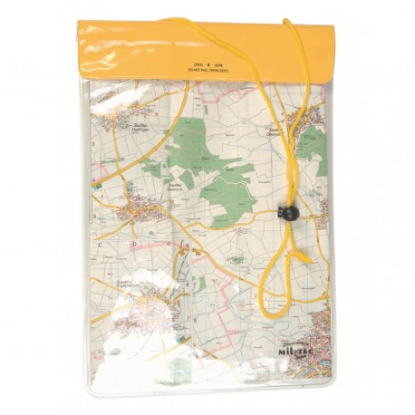 Wodoszczelny mapnik Mil-Tec 26x35 żółty