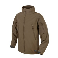 Kurtka Helikon-Tex Gunfighter Windblocker Shark Skin mud brown