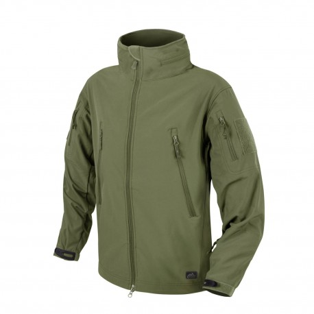 Kurtka Helikon-Tex Gunfighter Windblocker Shark Skin olive green
