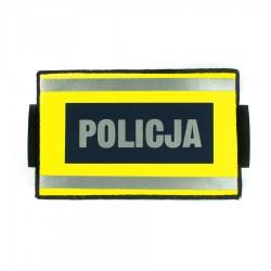 Opaska identyfikacyjna na rękę z oznakowaniem POLICJA