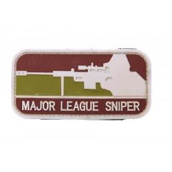 Naszywka 3D Major League Sniper Arid