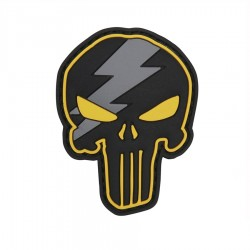 Naszywka 3D Punisher Thunder Yellow