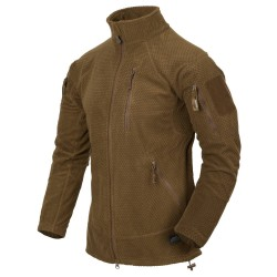 Polar Helikon-Tex Alpha Tactical Grid Fleece Jacket coyote