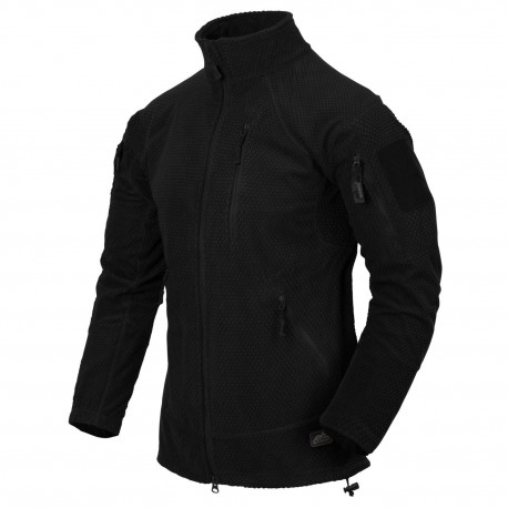 Polar Helikon-Tex Alpha Tactical Grid Fleece Jacket czarna