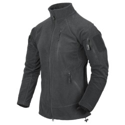 Polar Helikon-Tex Alpha Tactical Grid Fleece Jacket shadow grey