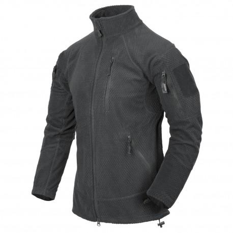 Polar Helikon-Tex Alpha Tactical Grid Fleece Jacket shadow grey
