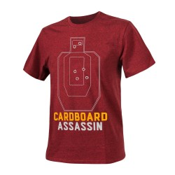 T-shirt Helikon-Tex Cardboard Assassin Melange Red