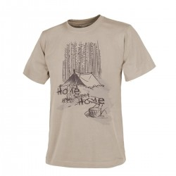T-shirt Helikon-Tex Home Sweet Home Beż