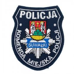 Emblemat Komenda Miejska Policji Suwałki
