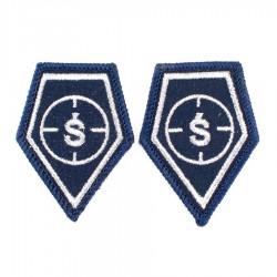 Korpusówki Policja CBŚP (Ś) komplet