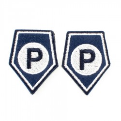 Korpusówki Policja Prewencja (P) komplet
