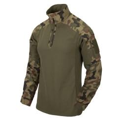 Bluza Helikon-Tex Combat Shirt MCDU NyCo Ripstop PL Woodland WZ93
