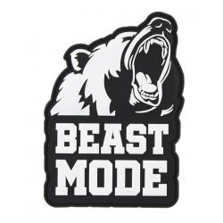 Naszywka 3D Beast Mode Black