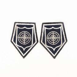 Korpusówki Policja Oddział Prewencji i podoodziały AT (tarcza) komplet