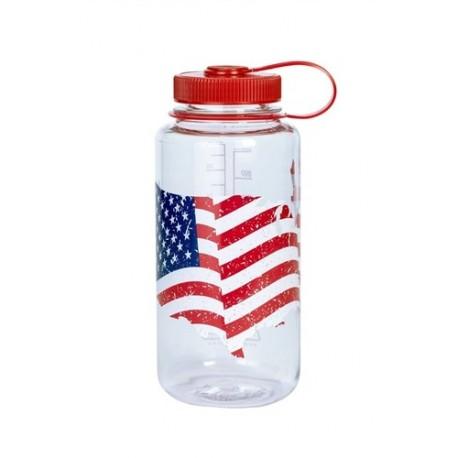 Butelka Nalgene 1L American flag