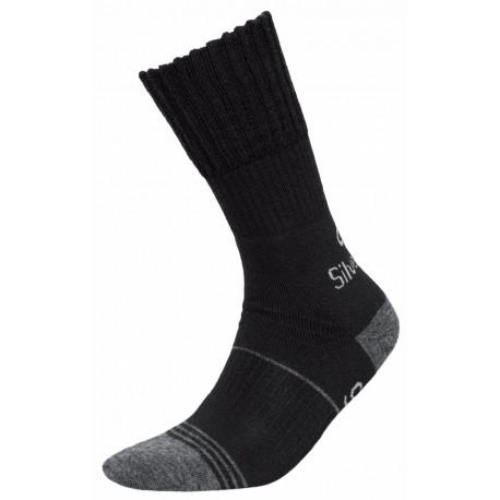 Skarpety JJW Trekking Deodorant Silver Wool czarne