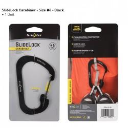Nite Ize SlideLock Carabiner 6 Czarny CSL6-01-R6