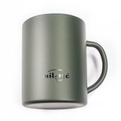 Kubek termiczny Mil-Tec 450ml Zielony