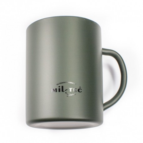 Kubek termiczny Mil-Tec 300ml Zielony