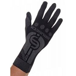 Rękawiczki termoaktywne czarne Brubeck