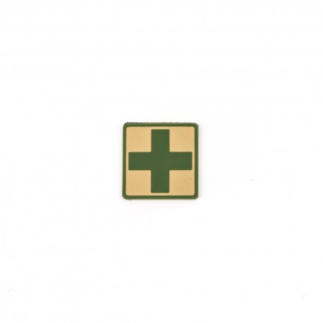 Naszywka Helikon-Tex Med Cross PVC beż
