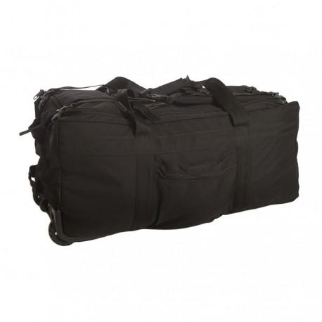 Torba Mil-Tec Combat Duffle bag czarna z kółkami