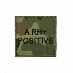 Naszywka grupa krwi A Rh Pos wz93 94x94mm