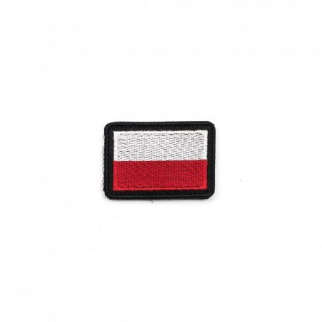 Flaga Polski bialo czerwona H