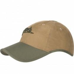 Czapka Helikon-Tex Logo Cap Coyote/OliveGreen
