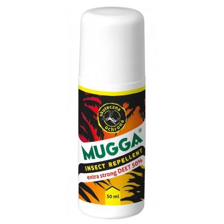 Preparat Mugga Roll-on 50% DEET 50ml
