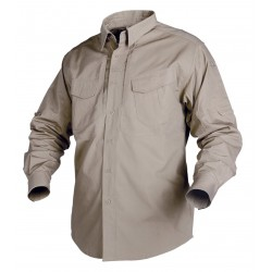 Koszula Helikon-Tex Defender Mk2 Long Sleeve Beżowa