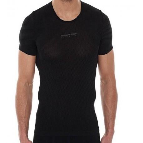 Koszulka Base Layer unisex krótki rękaw grafitowy SS10540