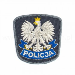 Emblemat orzeł Policja na czapkę z rzepem