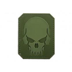 Naszywka 3D Pirateskull Olive
