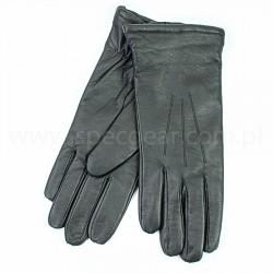 Rękawiczki męskie zimowe skórzane