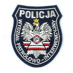 Emblemat Wydział Patrolowo Interwencyjny