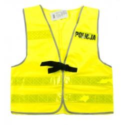 Kamizelka ostrzegawcza POLICJA