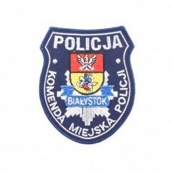 Emblemat Komenda Miejska Policji Białystok