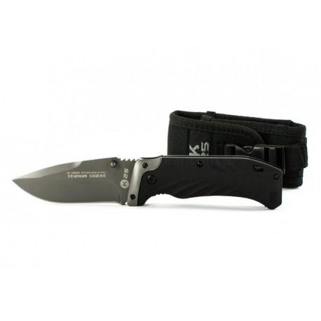 Nóż K25 Titanium Coated 19669