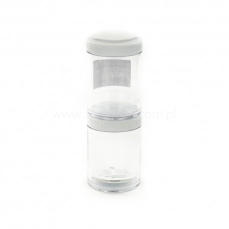 BlenderBottle GoStak 150ml 2Pak White