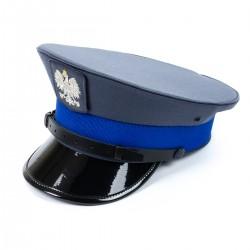 Czapka gabardynowa Policja Sylmiet podoficer