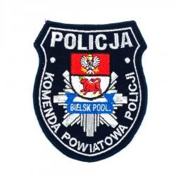 Emblemat Komenda Powiatowa Policji Bielsk Podlaski