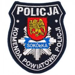 Emblemat Komenda Powiatowa Policji Sokółka